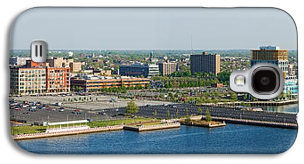 Buildings At The Waterfront, Adventure Galaxy S4 Case by Panoramic Images