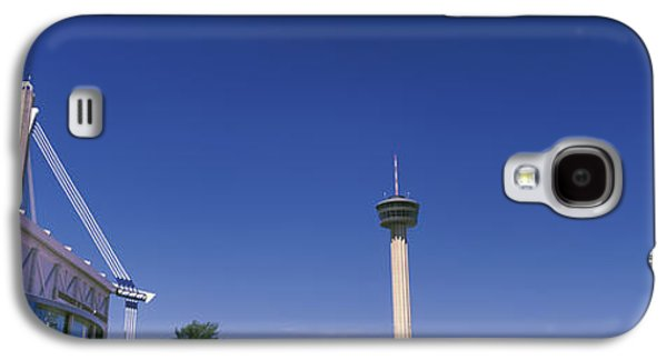 The Americas Galaxy S4 Cases - Buildings In A City, Alamodome, Tower Galaxy S4 Case by Panoramic Images