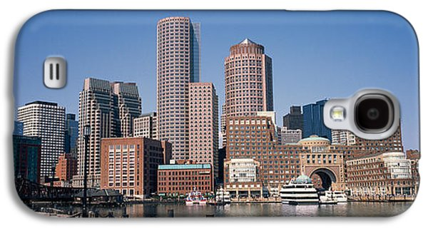 Business Galaxy S4 Cases - Buildings In A City, Boston, Suffolk Galaxy S4 Case by Panoramic Images