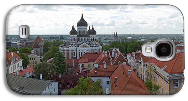 Tallinn Galaxy S4 Cases - Buildings In A City, St. Nicholas Galaxy S4 Case by Panoramic Images