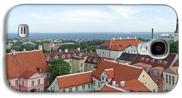 Tallinn Galaxy S4 Cases - Buildings In A City, Tallinn, Estonia Galaxy S4 Case by Panoramic Images