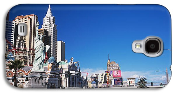 The Strip Galaxy S4 Cases - Buildings In A City, The Strip, Las Galaxy S4 Case by Panoramic Images