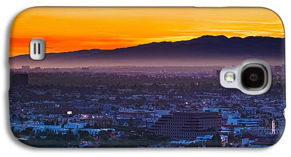 Studio Photography Galaxy S4 Cases - Buildings In A City With Mountain Range Galaxy S4 Case by Panoramic Images