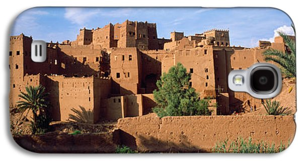 Ancient Galaxy S4 Cases - Buildings In A Village, Ait Benhaddou Galaxy S4 Case by Panoramic Images