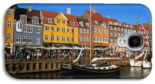Buildings On The Waterfront, Nyhavn Galaxy S4 Case by Panoramic Images