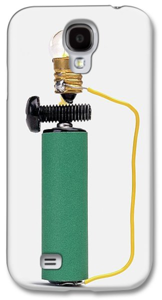 Bulb Resting On Steel Screw Galaxy S4 Case by Dorling Kindersley/uig