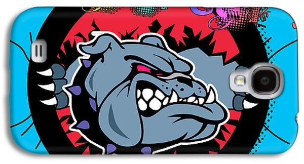 Bulldog 6 Galaxy S4 Case by Mark Ashkenazi