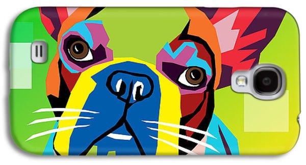 Bulldog  Galaxy S4 Case by Mark Ashkenazi