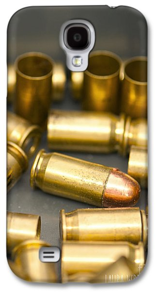 Laura Wrede Galaxy S4 Cases - Bullet Art 3 Galaxy S4 Case by Artist and Photographer Laura Wrede
