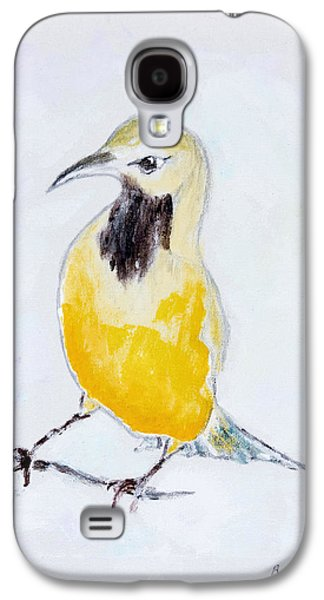 Wild Orchards Galaxy S4 Cases - Bullocks Oriole No 2 Galaxy S4 Case by Ben Gertsberg