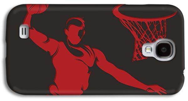Chicago Bulls Galaxy S4 Cases - Bulls Shadow Player2 Galaxy S4 Case by Joe Hamilton