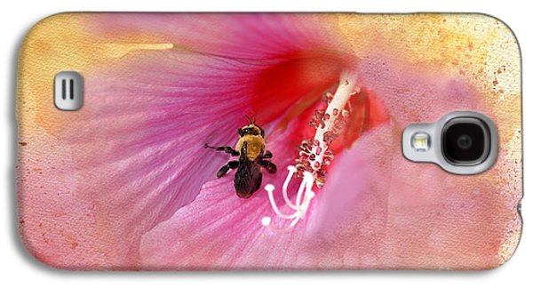 Althea Galaxy S4 Cases - Bumble Bee Bliss Galaxy S4 Case by Betty LaRue