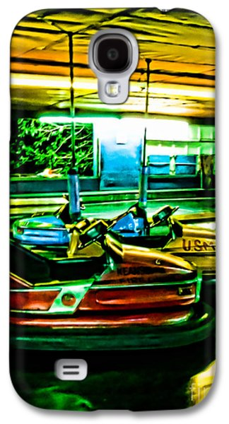 Original Art Photographs Galaxy S4 Cases - Bumper Cars Galaxy S4 Case by Colleen Kammerer