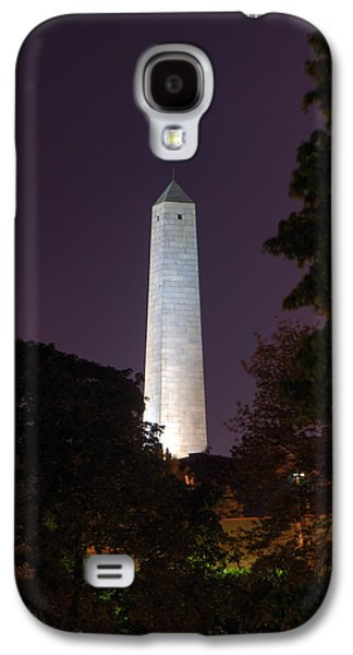 Prescott Photographs Galaxy S4 Cases - Bunker Hill Monument - Boston Galaxy S4 Case by Joann Vitali