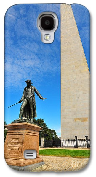 Catherine Reusch Daley Galaxy S4 Cases - Bunker Hill Monument Galaxy S4 Case by Catherine Reusch  Daley