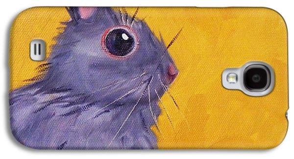 Bunny Galaxy S4 Case by Nancy Merkle
