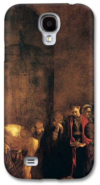 Caravaggio Galaxy S4 Cases - Burial of St Lucy Galaxy S4 Case by Caravaggio