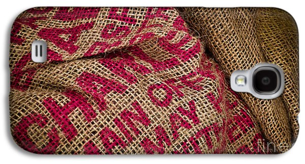 Original Art Photographs Galaxy S4 Cases - Burlap Bag Galaxy S4 Case by Colleen Kammerer