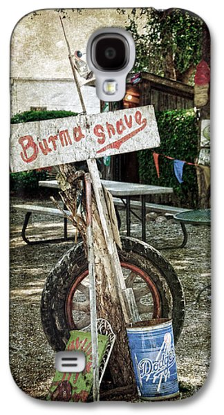 Shed Galaxy S4 Cases - Burma Shave sign Galaxy S4 Case by RicardMN Photography