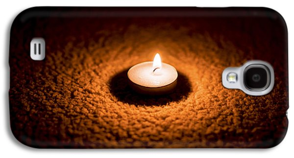Birthday Galaxy S4 Cases - Burning Candle Galaxy S4 Case by Aged Pixel