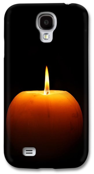 Studio Photographs Galaxy S4 Cases - Burning candle Galaxy S4 Case by Johan Swanepoel
