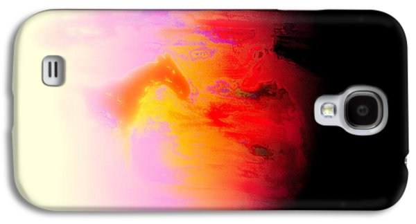 Psychiatric Paintings Galaxy S4 Cases - Burning My Wings Galaxy S4 Case by Hilde Widerberg