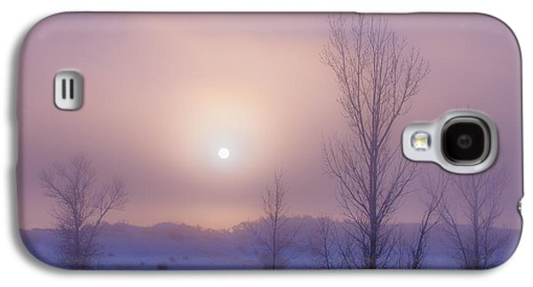 Christmas Greeting Galaxy S4 Cases - Burning Through Galaxy S4 Case by Darren  White