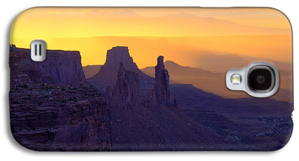 Southern Utah Galaxy S4 Cases - Burning Through Galaxy S4 Case by Dustin  LeFevre