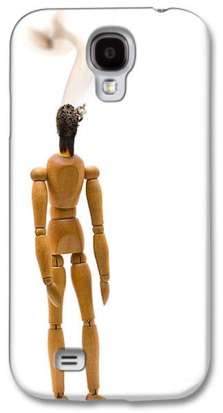 Studio Sculptures Galaxy S4 Cases - Burnout Galaxy S4 Case by Shawn Hempel