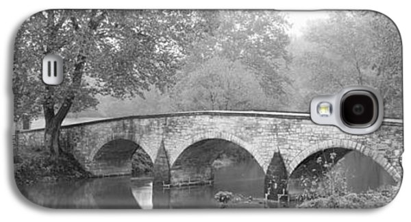 Battlefield Site Galaxy S4 Cases - Burnside Bridge Antietam National Galaxy S4 Case by Panoramic Images