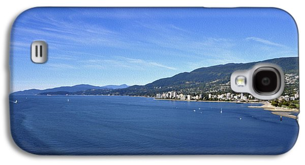 Burrard Inlet Galaxy S4 Cases - Burrard Inlet Vancouver Galaxy S4 Case by Aged Pixel