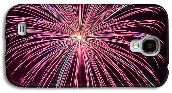 4th July Galaxy S4 Cases - 4th of July Fireworks 24 Galaxy S4 Case by Howard Tenke
