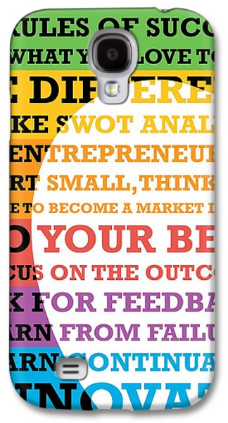 Business Galaxy S4 Cases - Business Leadership Lessons From Steve Jobs Quotes  Galaxy S4 Case by Lab No 4 - The Quotography Department