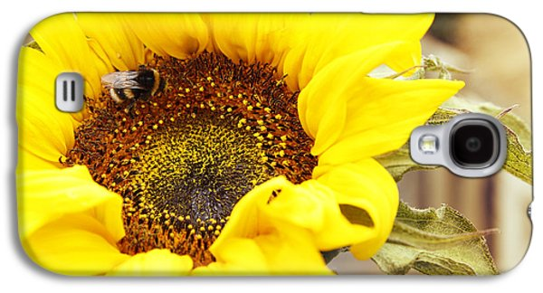Pollinate Galaxy S4 Cases - Busy bee Galaxy S4 Case by Les Cunliffe
