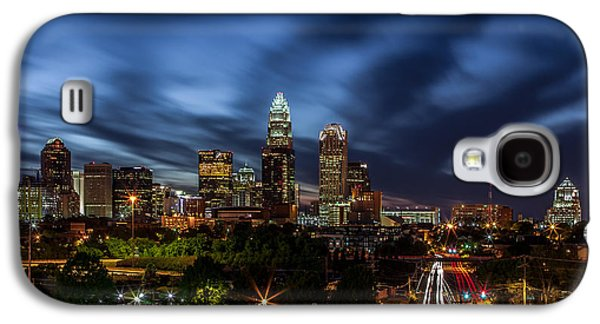 Busy Charlotte Night Galaxy S4 Case by Chris Austin