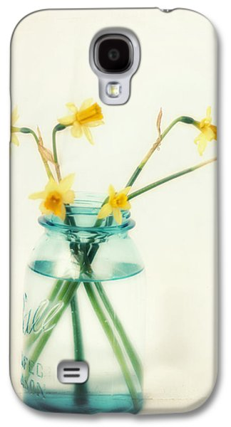 Flower Still Life Prints Galaxy S4 Cases - But I Love You Still Galaxy S4 Case by Amy Tyler