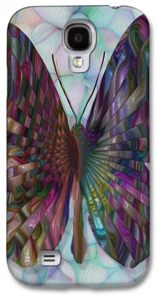 Merging Galaxy S4 Cases - Butterfly 3 Galaxy S4 Case by Jack Zulli