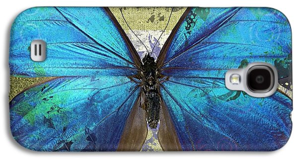 Variants Galaxy S4 Cases - Butterfly Art - s01bfr02 Galaxy S4 Case by Variance Collections
