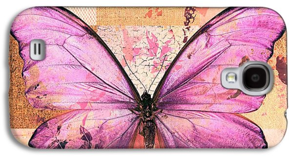 Butterfly Art - Sr51a Galaxy S4 Case by Variance Collections