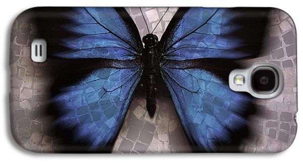 Morphing Galaxy S4 Cases - Butterfly Becomes the Mosaic  Galaxy S4 Case by Elizabeth McTaggart