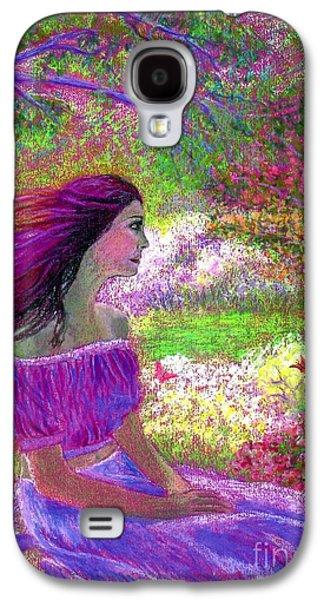 Butterfly Breezes Galaxy S4 Case by Jane Small