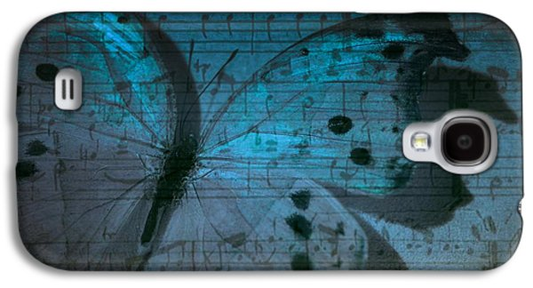 Artography Galaxy S4 Cases - Butterfly Midnight Symphony Galaxy S4 Case by Marianna Mills