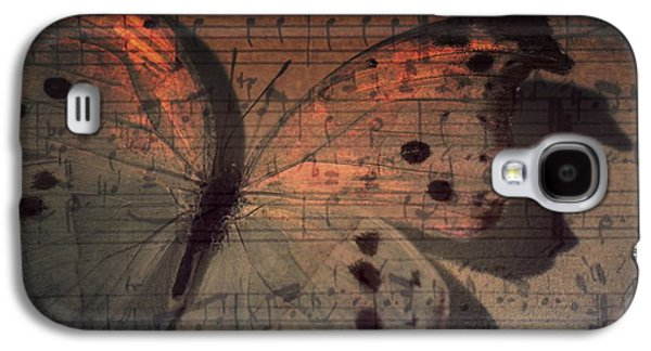 Artography Galaxy S4 Cases - Butterfly Sunset Symphony Galaxy S4 Case by Marianna Mills