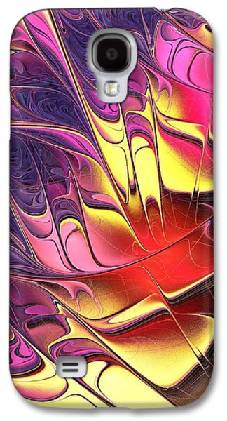 Rainbow Galaxy S4 Cases - Butterfly Wing Galaxy S4 Case by Anastasiya Malakhova