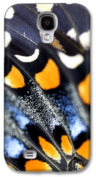 Butterflies Galaxy S4 Cases - Butterfly Wings Galaxy S4 Case by Iris Richardson