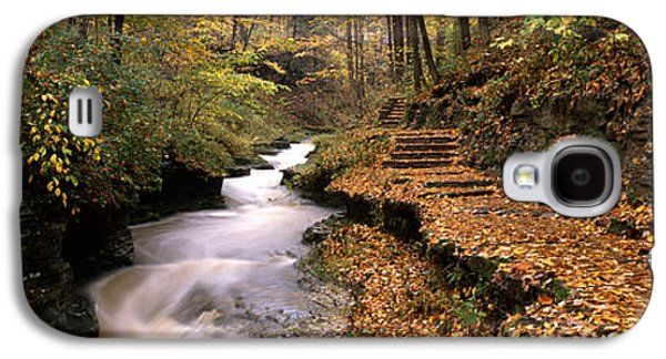 Ithaca Galaxy S4 Cases - Buttermilk Creek, Ithaca, New York Galaxy S4 Case by Panoramic Images