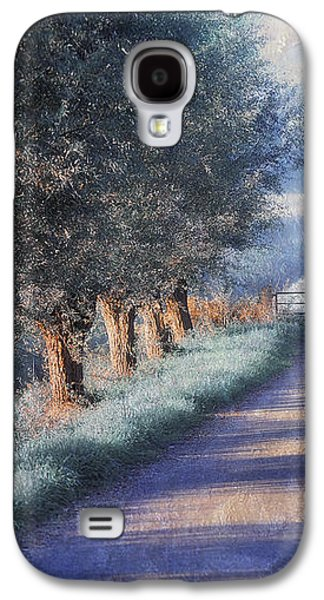 Sun Galaxy S4 Cases - By Road of Your Dream. Monet Style Galaxy S4 Case by Jenny Rainbow