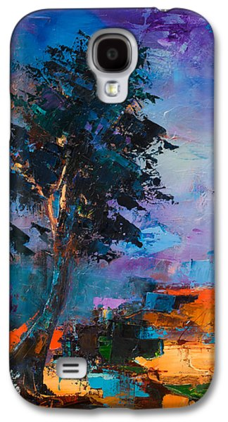 Nature Abstract Galaxy S4 Cases - By the Canyon Galaxy S4 Case by Elise Palmigiani