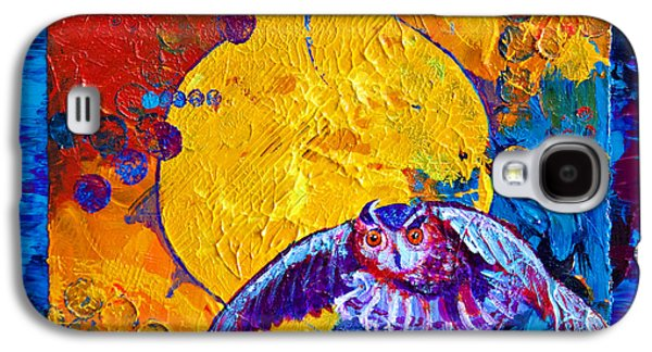 Americans Pastels Galaxy S4 Cases - By the Light of the Moon Galaxy S4 Case by Tracy L Teeter