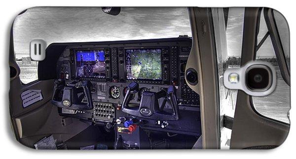 Stellenbosch Galaxy S4 Cases - C A P Cessna 182 Skylane G1000 fsx v1 Galaxy S4 Case by John Straton
